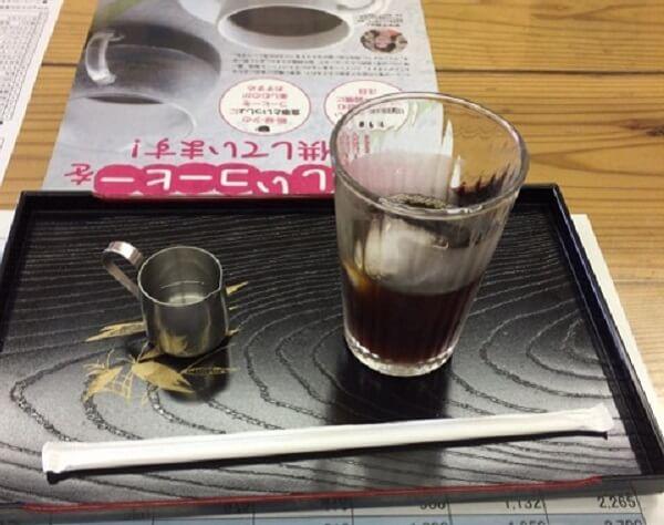珈琲工房ぶれん堂のアイスコーヒーの画像