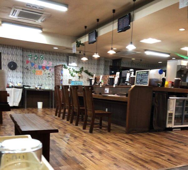 「麺創 天風」の店内の画像