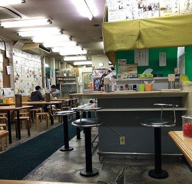 ラーメン「魁龍」 博多本店の店内の画像