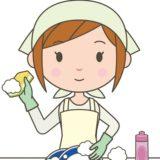食器を洗う女性の画像