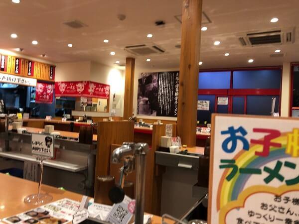 博多駅一幸舎の店内の画像