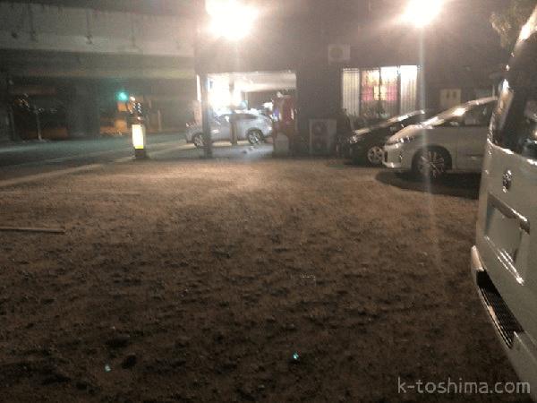 「水城らあ麺」駐車場の画像