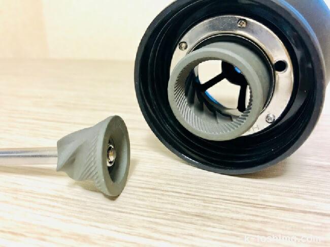 HARIO (ハリオ) 手挽きコーヒーミルMSCS-2Bのセラミック刃の画像