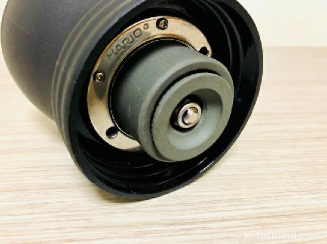 ハリオ手挽きコーヒーミル セラミック刃の画像