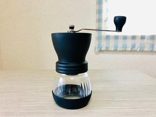 HARIO (ハリオ) 手挽きコーヒーミル セラミック スケルトン ブラック MSCS-2Bの画像