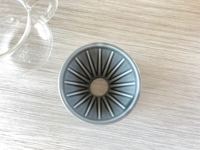 KINTOドリッパー リブの形状