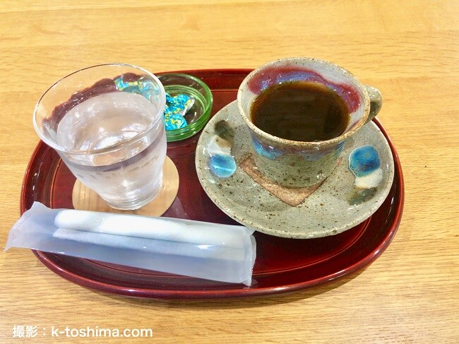 C.C.SETOのコーヒーとチョコレート