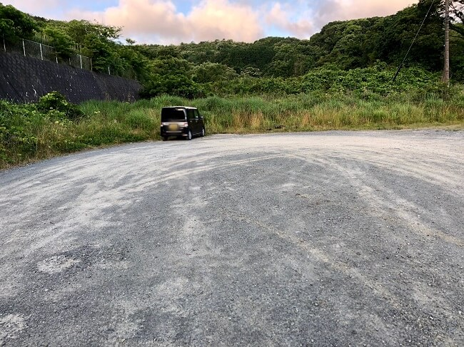 龍王山の駐車場