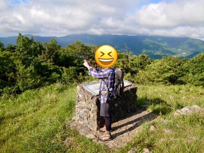 龍王山山頂ととしま