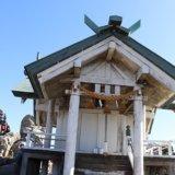 宝満山山頂の竈門神社上宮
