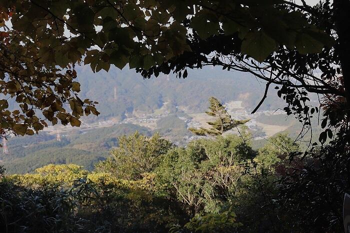 宝満山からみえる景色