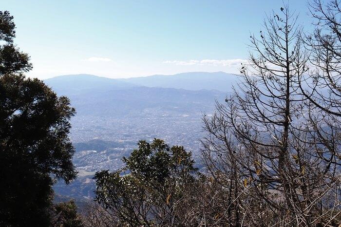 宝満山からの眺め