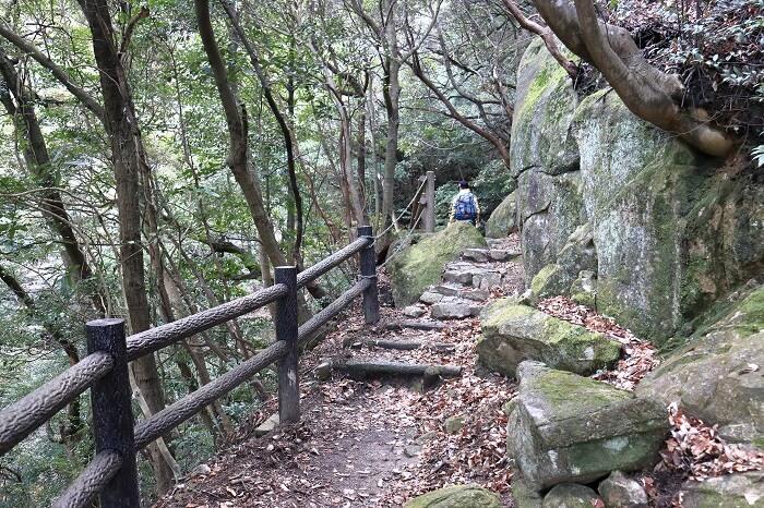 白糸の滝ルート