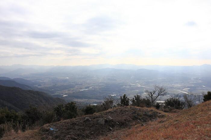 鷹取山山頂からの眺め