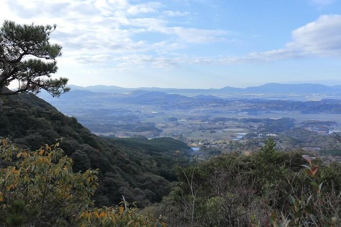 福智山からの眺め