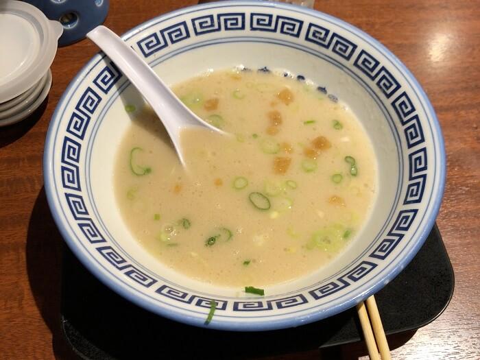 清陽軒本店のスープ