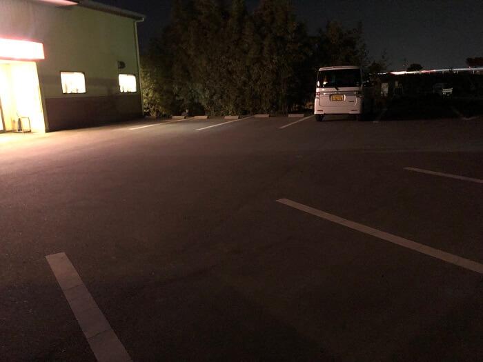 うちだラーメン(筑紫野市)の駐車場