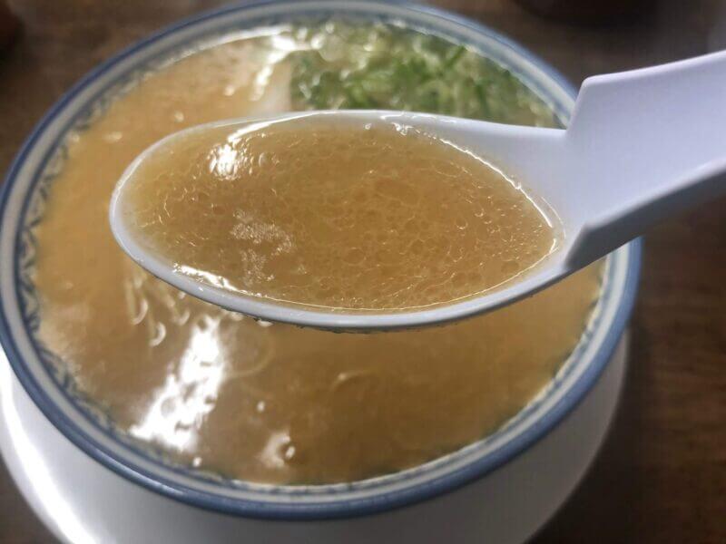元祖赤のれんの豚骨スープ