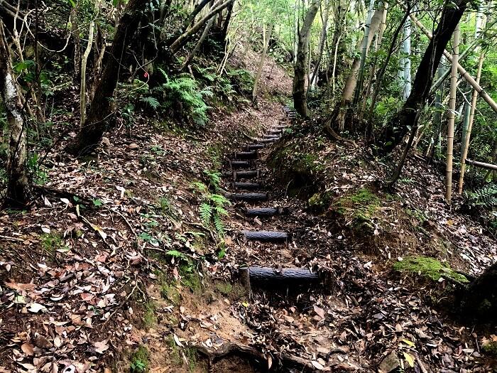 可也山 登山道1