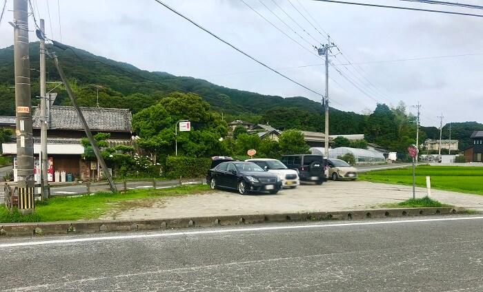可也山の駐車場