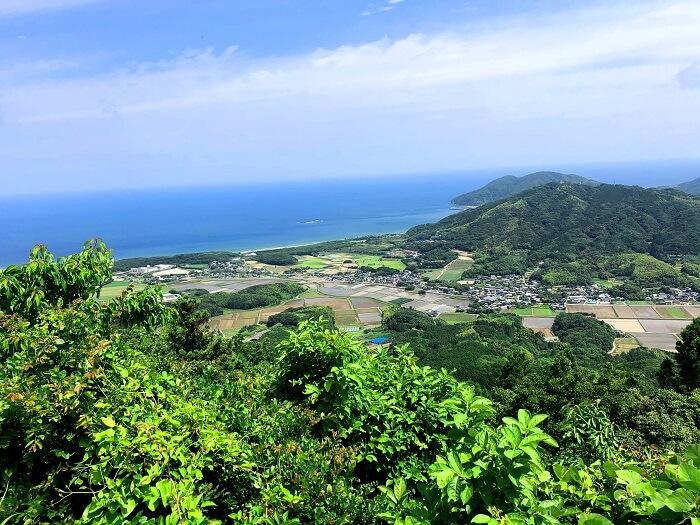 可也山からの眺め