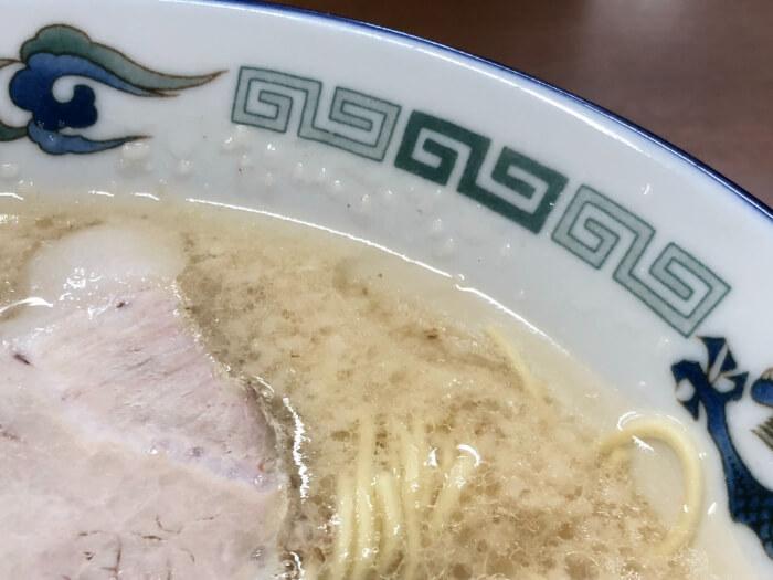 らーめん八の豚骨スープ 2