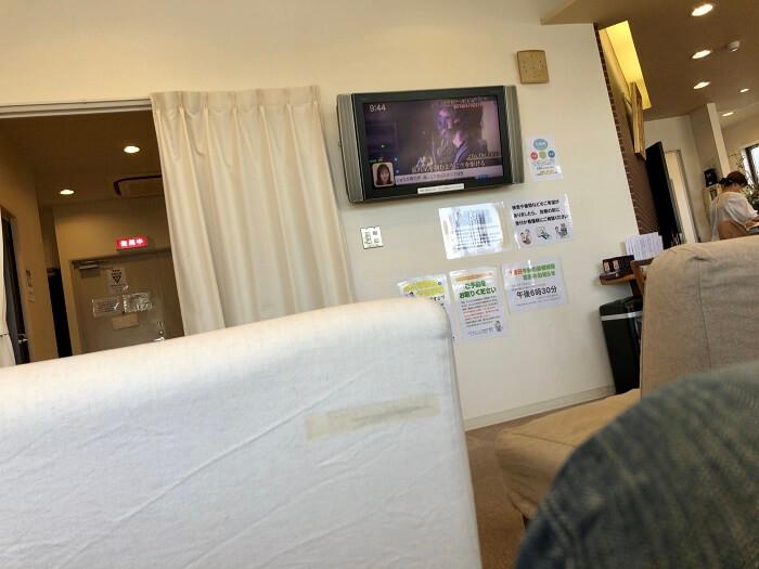 かわくぼクリニックの待合室2